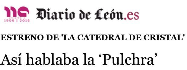 ASÍ HABLABA LA 'PULCHRA'