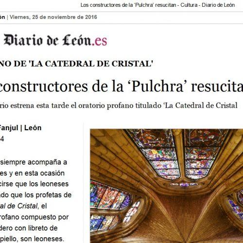 LOS CONSTRUCTORES DE LA 'PULCHRA' RESUCITAN